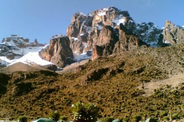 6 Days Mount Kenya Trekking Safari Chogoria Route